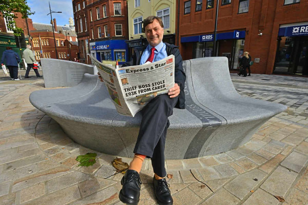 New city centre bench is nice, but costly and a bit cold - the people have their say