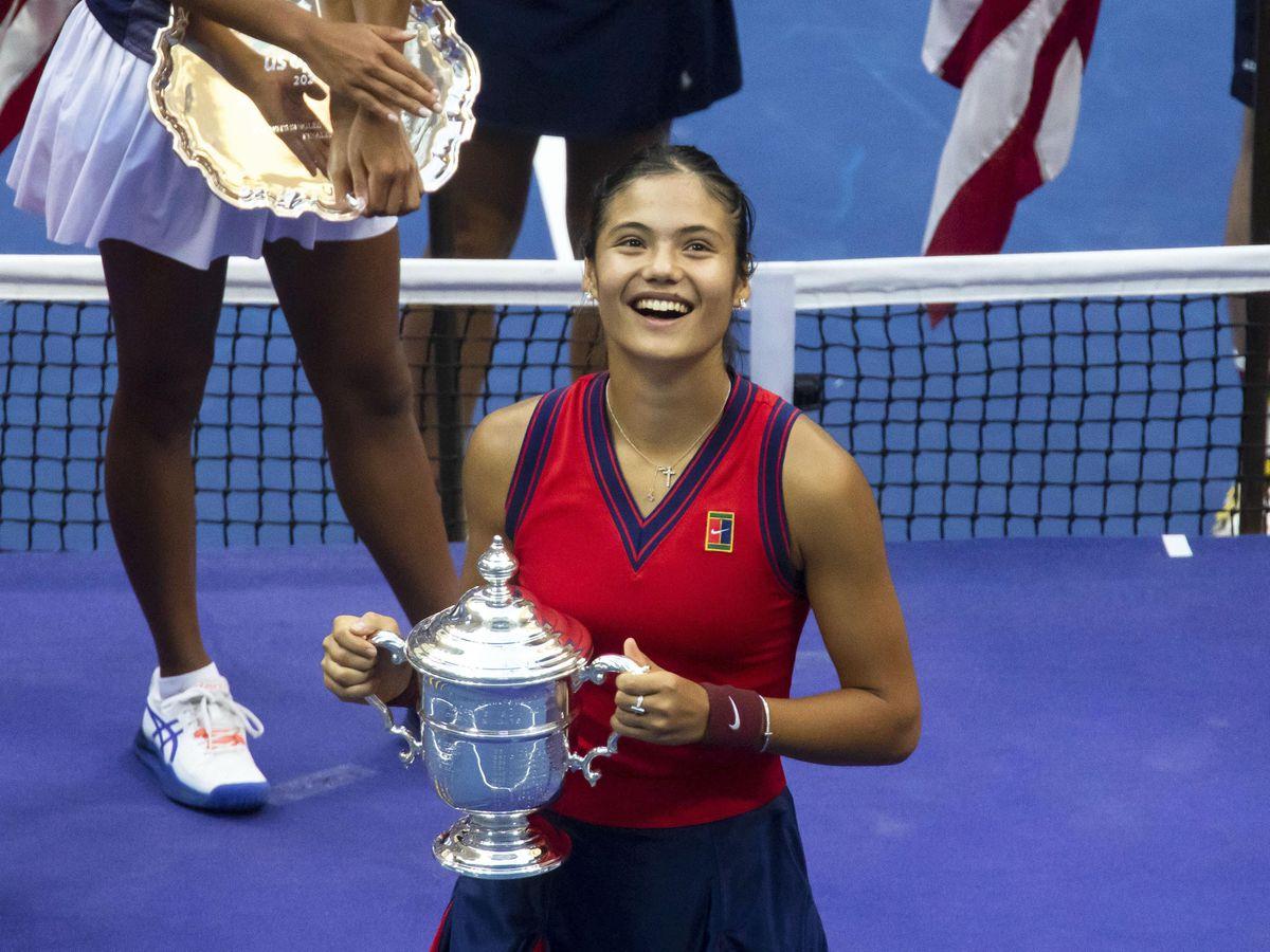 Emma Raducanu is still on cloud nine after her US Open success