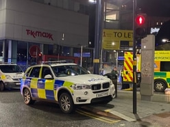 Ambulance worker attacked while treating man at Birmingham New Street