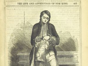 Tom King as depicted in The Life and Adventures of Tom King in 1851