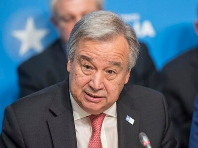 UN chief says coronavirus outbreak is 'a very dangerous situation'