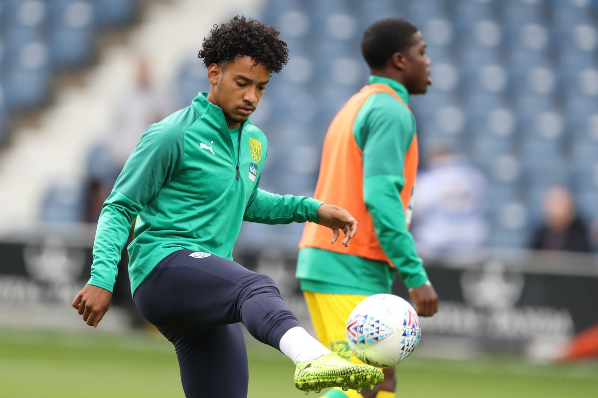 Matheus Pereira of West Bromwich Albion during the pre-match warm up. (AMA)
