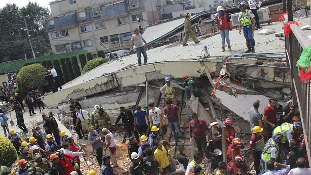 How a 7.1 magnitude quake devastated Mexico this week