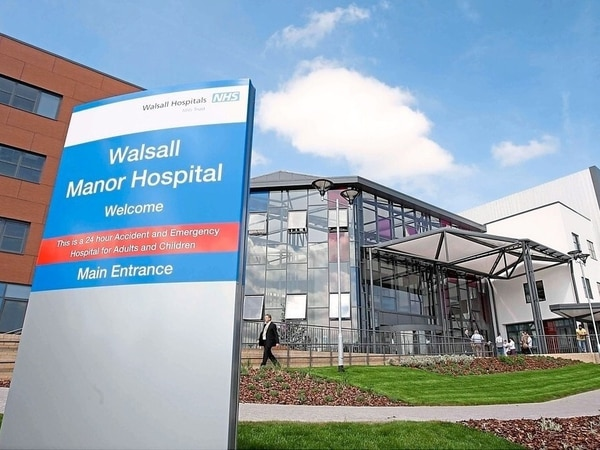 Ward at Walsall Manor Hospital remains closed after norovirus outbreak