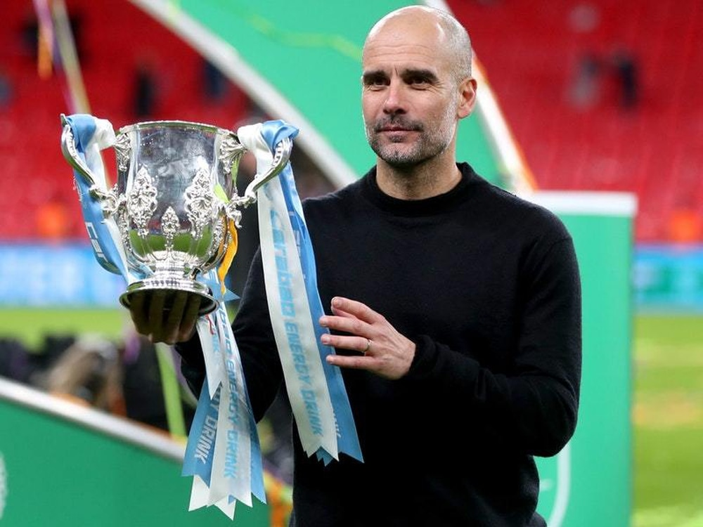 Guardiola won his 29th trophy as a manager