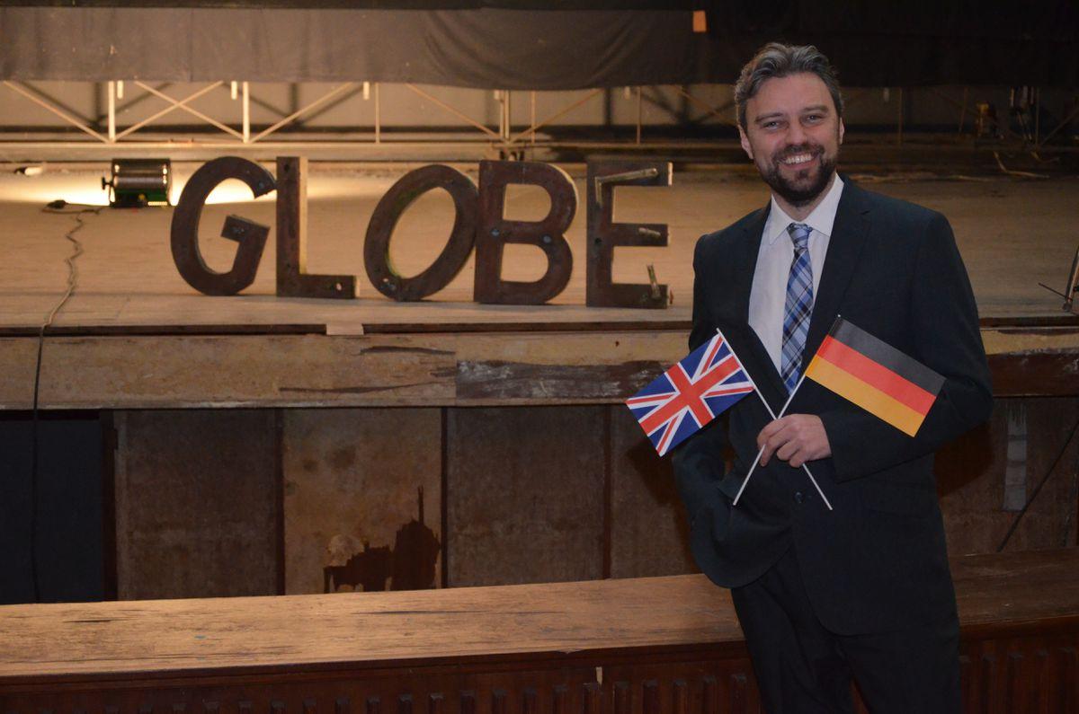 Dr John Goodyear at The Globe Credit: Gerd Schütt
