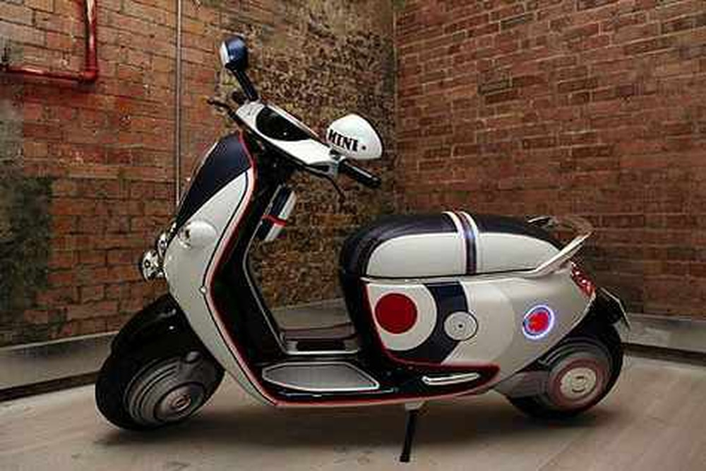 Minis New Stylish Scooter The E Concept Express Star