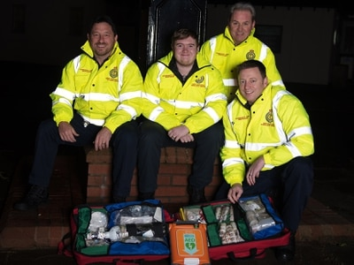 Life-saving team in plea for new vehicle