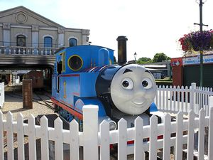 Station yourself right here – toddlers and young children will love Thomasland, or a trip to see the ltigers at the zoo