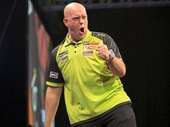 Michael Van Gerwen fires out a warning as he hits top form