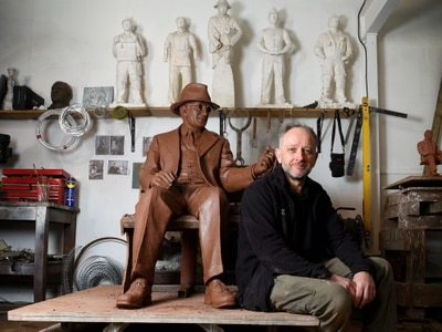 WATCH: 'British Schindler' statue almost ready for Black Country park