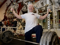 'I thought Clooney was there': Crowd go wild as Stafford 81-year-old smashes weightlifting world record