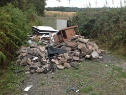 Fly-tippers punished after van loaded with rubble and tarmac spotted by passer-by