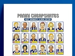 'Panini Cheapskates' draw West Brom heroes to raise money for charity