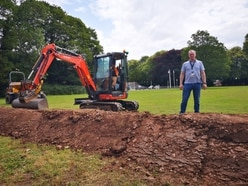 Racism row as earth mound used to stop traveller camps
