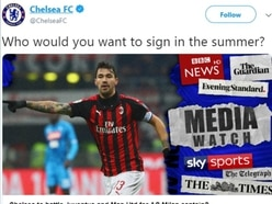 Chelsea tweet met with anger from fans amid transfer ban appeal