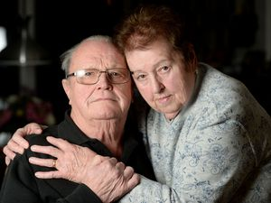 Pensioner Bill Keir and his wife Winnie waited 12 hours for medication