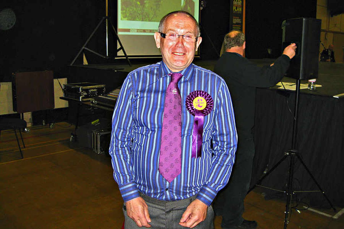 UKIP councillor Eric Kitson resigns over race row