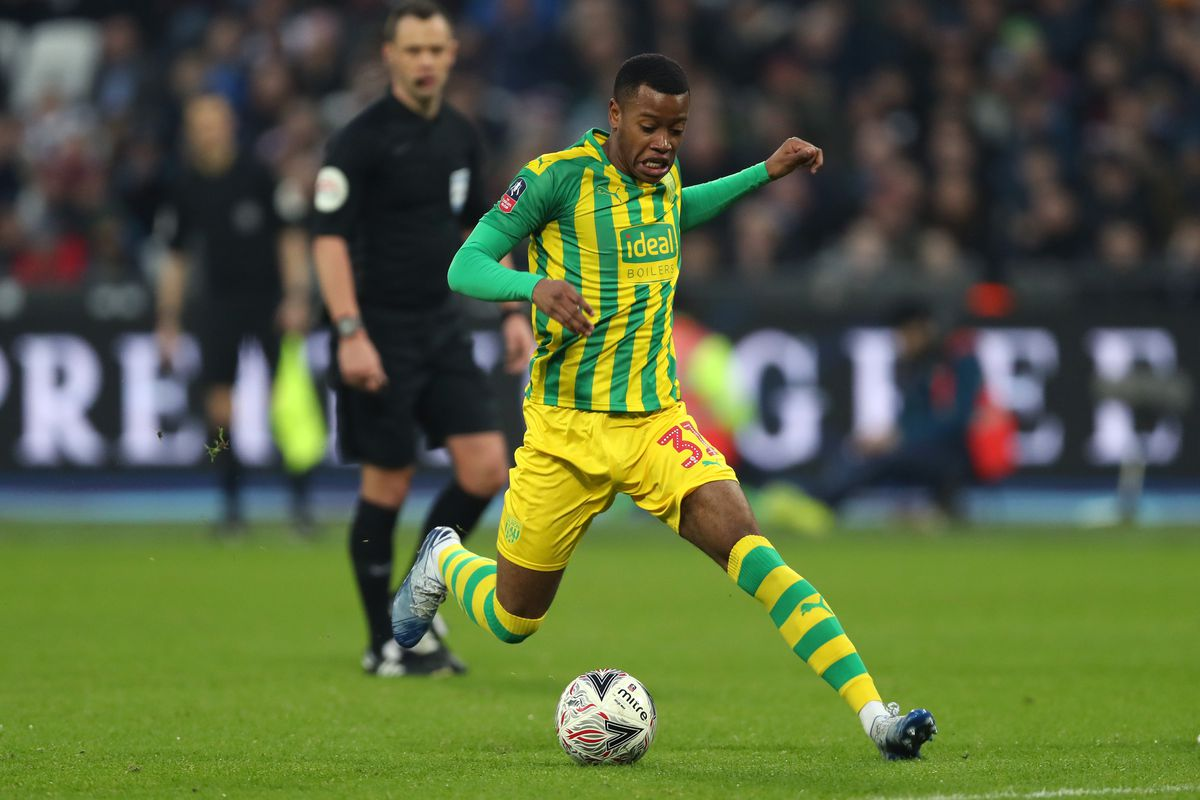 Rayhaan Tulloch of West Bromwich Albion (AMA)