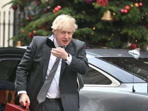 Prime Minister Boris Johnson arriving in Downing Street, London, after attending the debate in the House of Commons on the EU (Future Relationship) Bill. PA Photo. Picture date: Wednesday December 30, 2020. The Commons is expected to spend five hours scrutinising the 80-page Bill, though the Lords will likely sit late into the evening debating the legislation. See PA story POLITICS Brexit. Photo credit should read: Dominic Lipinksi/PA Wire