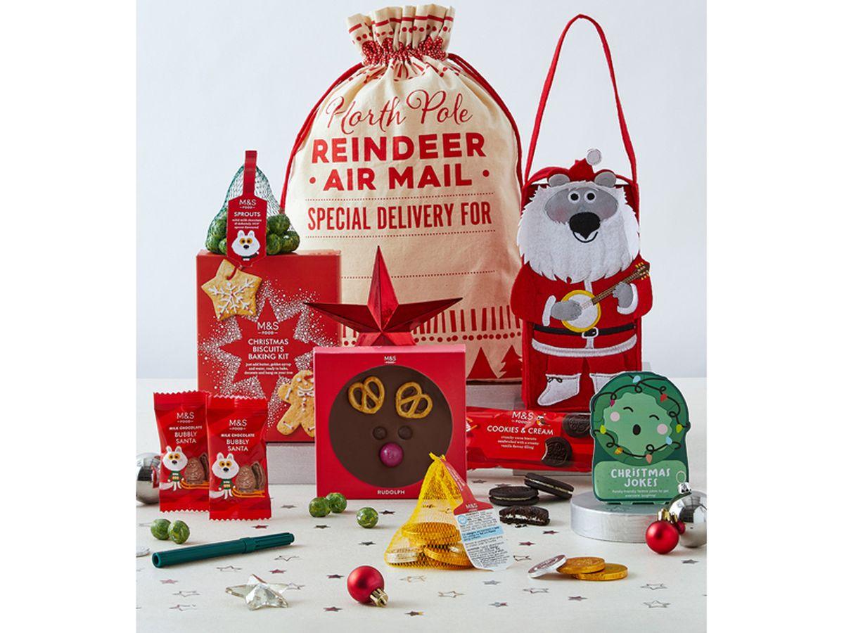Marks & Spencer Santa's Sack of Christmas Treats