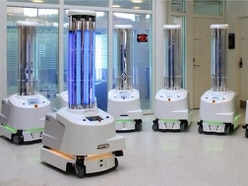 Could robots be the key to killing coronavirus?