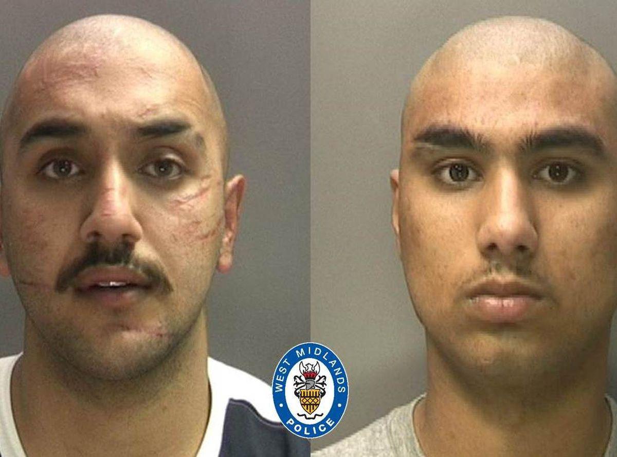 (L-R) Toyub Ali & Uzair Shahid. Photo: West Midlands Police