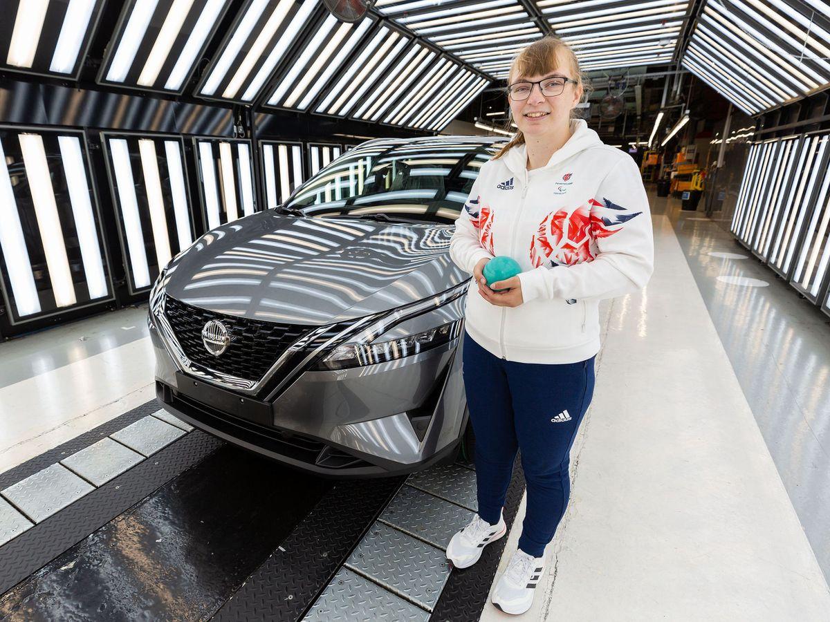 Nissan engineer Anna Nicholson