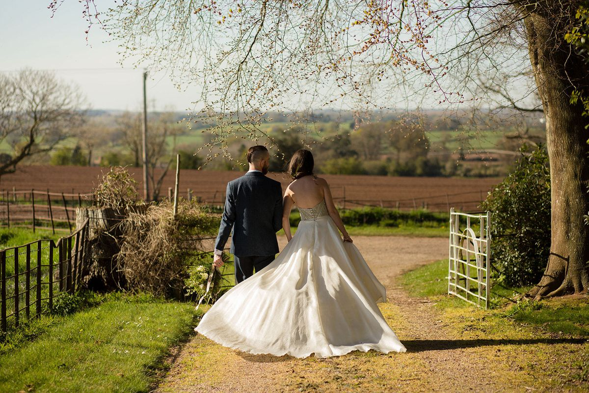 Wedding restrictions ease again on May 17 in both England and Wales