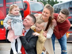 'If he hadn't stopped my daughter would be dead': Hero bus driver saves choking baby's life
