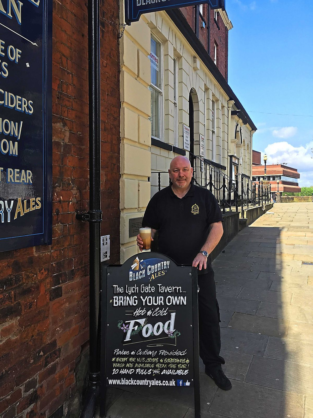 Sales on match days account for half my turnover – Dave Buck of the Lych Gate Tavern