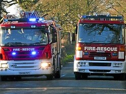 Man, girl and 'heavily pregnant' woman escape Willenhall house after shed fire spreads