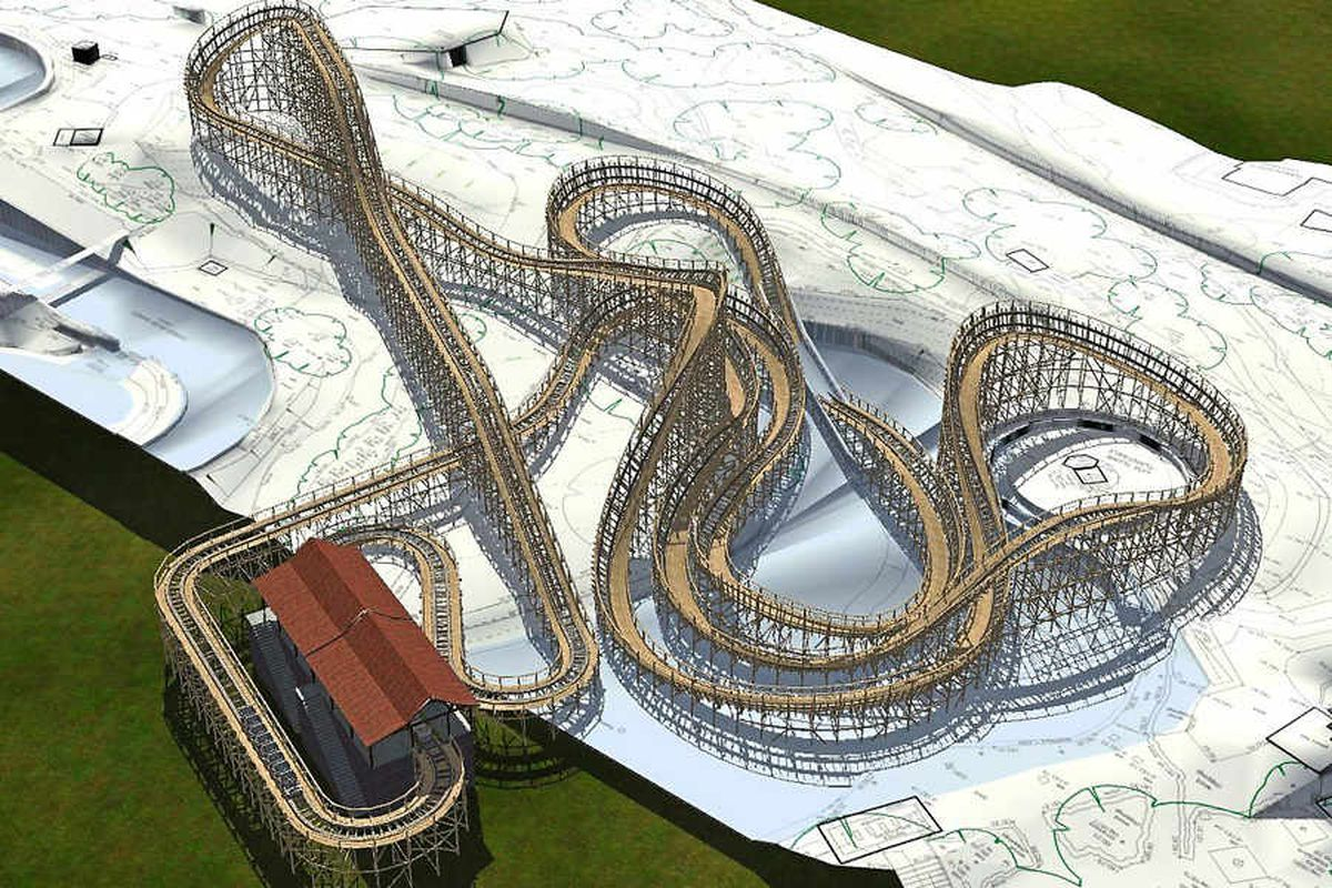 Alton Towers: Plans for new wooden rollercoaster at Staffordshire theme park