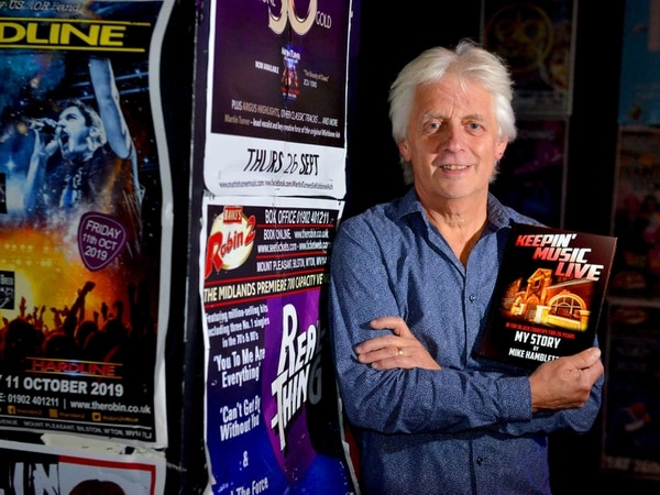 The rockin' Robin: Ex-Robin 2 Club boss Mike Hamblett reflects on venue in new book