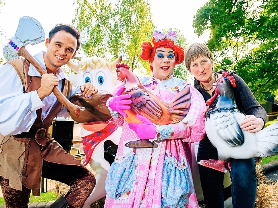 Jack and the Beanstalk: The cast talk as the Countdown begins for Wolverhampton Grand panto - with video