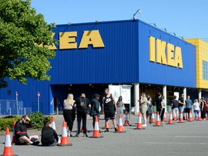 Ikea will erect a temporary building containing 51 click and collect lockers