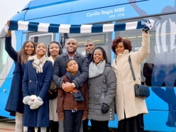 GALLERY: Cyrille Regis tram unveiled in the Black Country