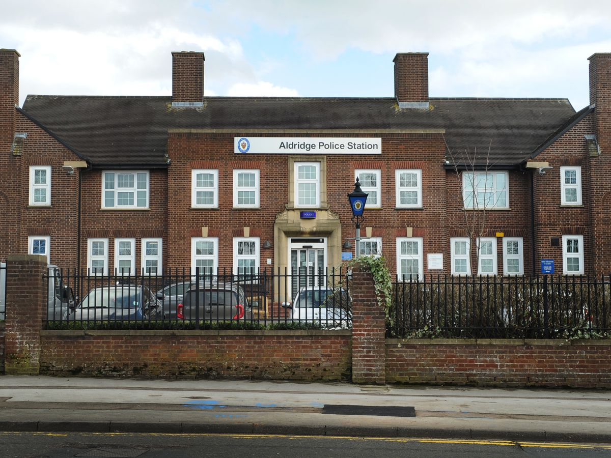 Aldridge Police Station in Anchor Road has been earmarked for closure