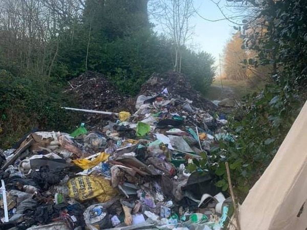 Estimated four tons of rubbish dumped at 18th-century Great Barr Hall