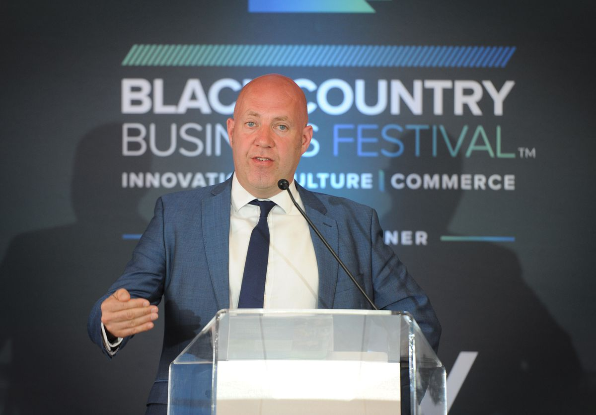 Corin Crane, chief executive of the Black Country Chamber of Commerce