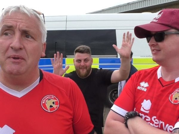 'We've got our club back and we're delighted with the win!' Walsall fans on opening day win - WATCH