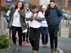 Jason Francis: 20 turn out for 15-mile walk in memory of tragic sportsman and partner Alice Robinson