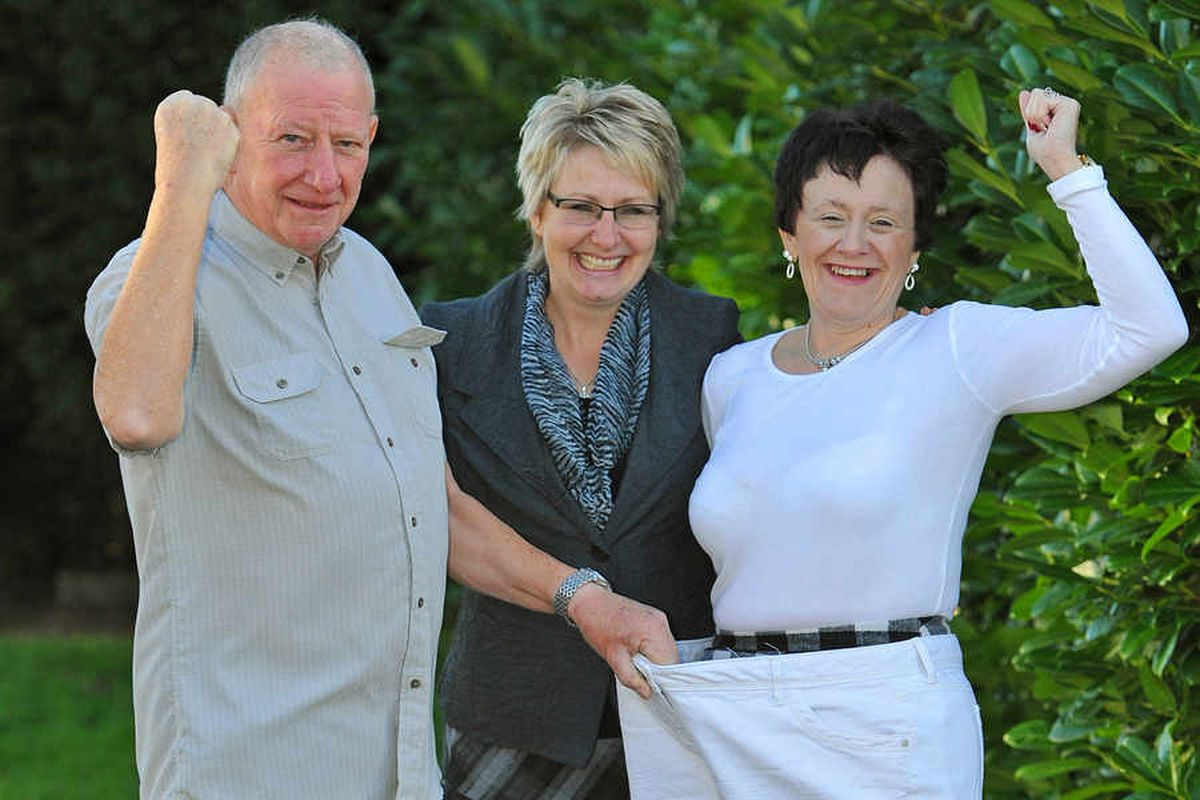 Weight loss is sweet tale for family