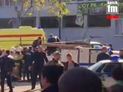 13 killed by bombing at Crimea college