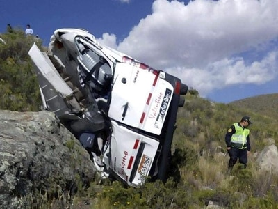 German tourists killed as bus crashes in Peru's Andes
