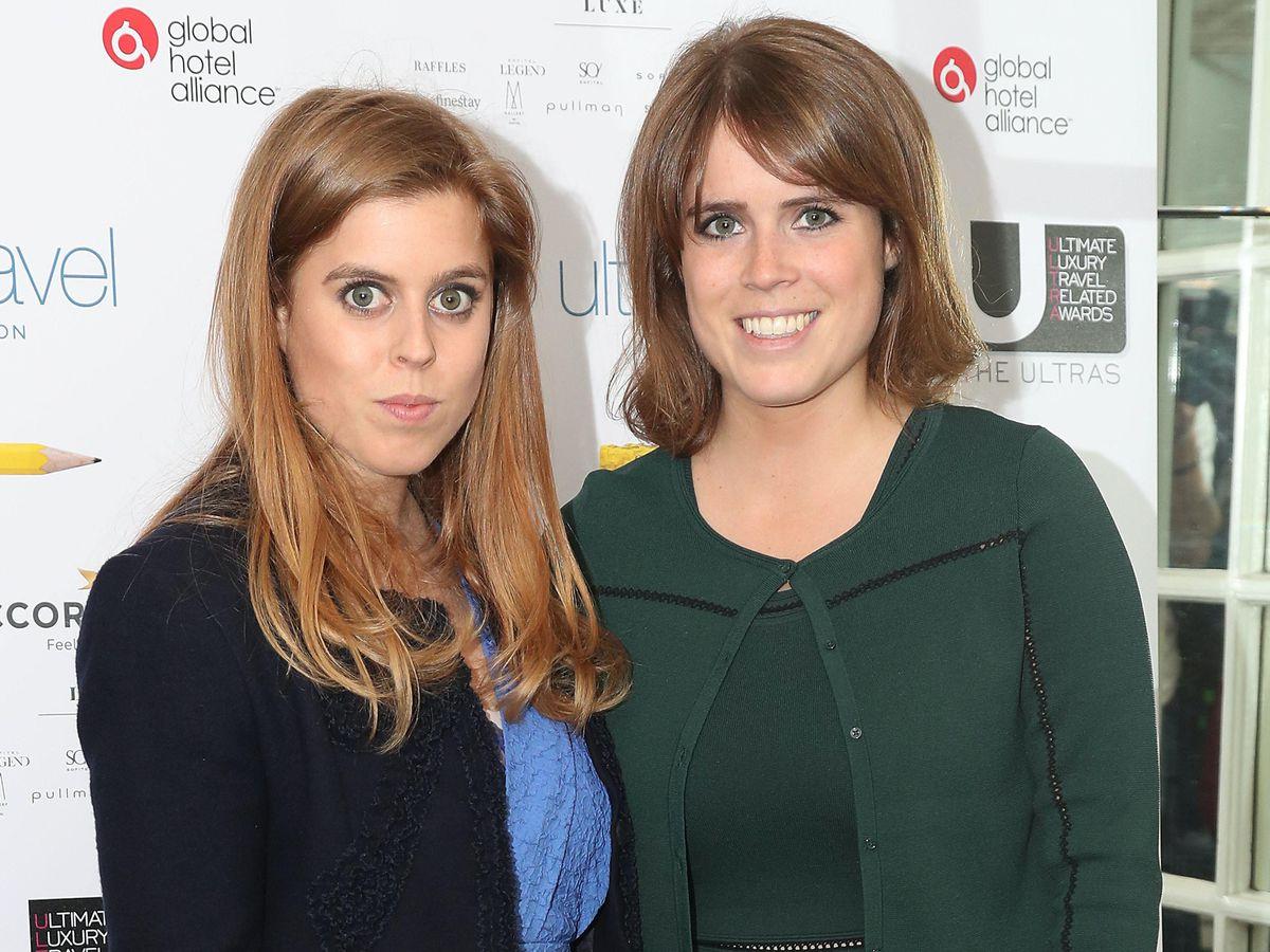 Princesses Beatrice and Eugenie