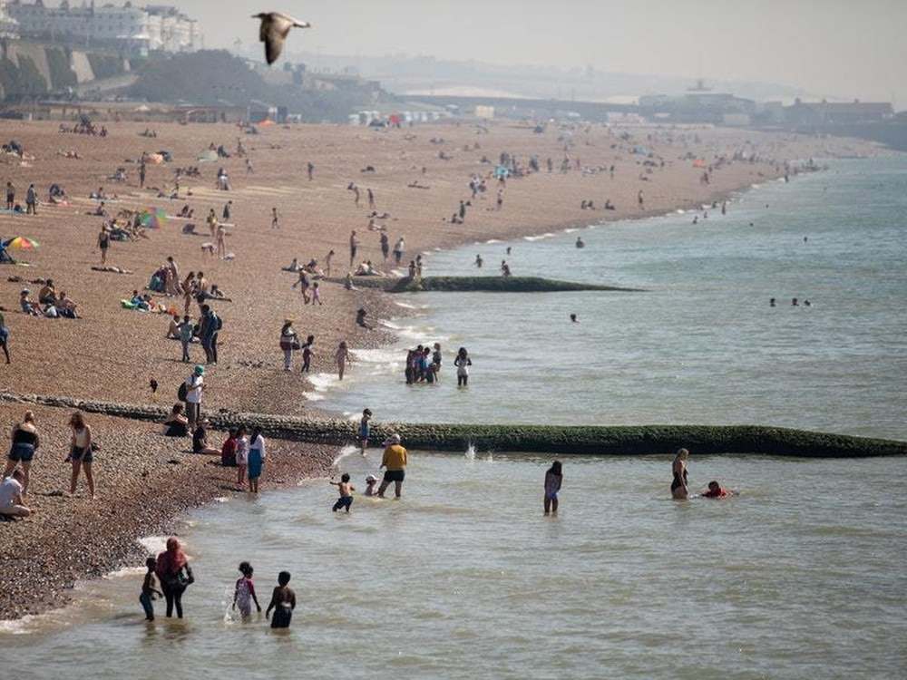 Wales has highest ever bank holiday temperature