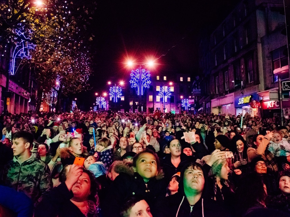 Crowds will be turning out for tonight's Wolverhampton Christmas lights  switch on - Wolverhampton Christmas Lights Switch On: These City Centre Roads