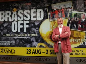 Brassed Off playwright Paul Allen, at Wolverhampton Grand Theatre