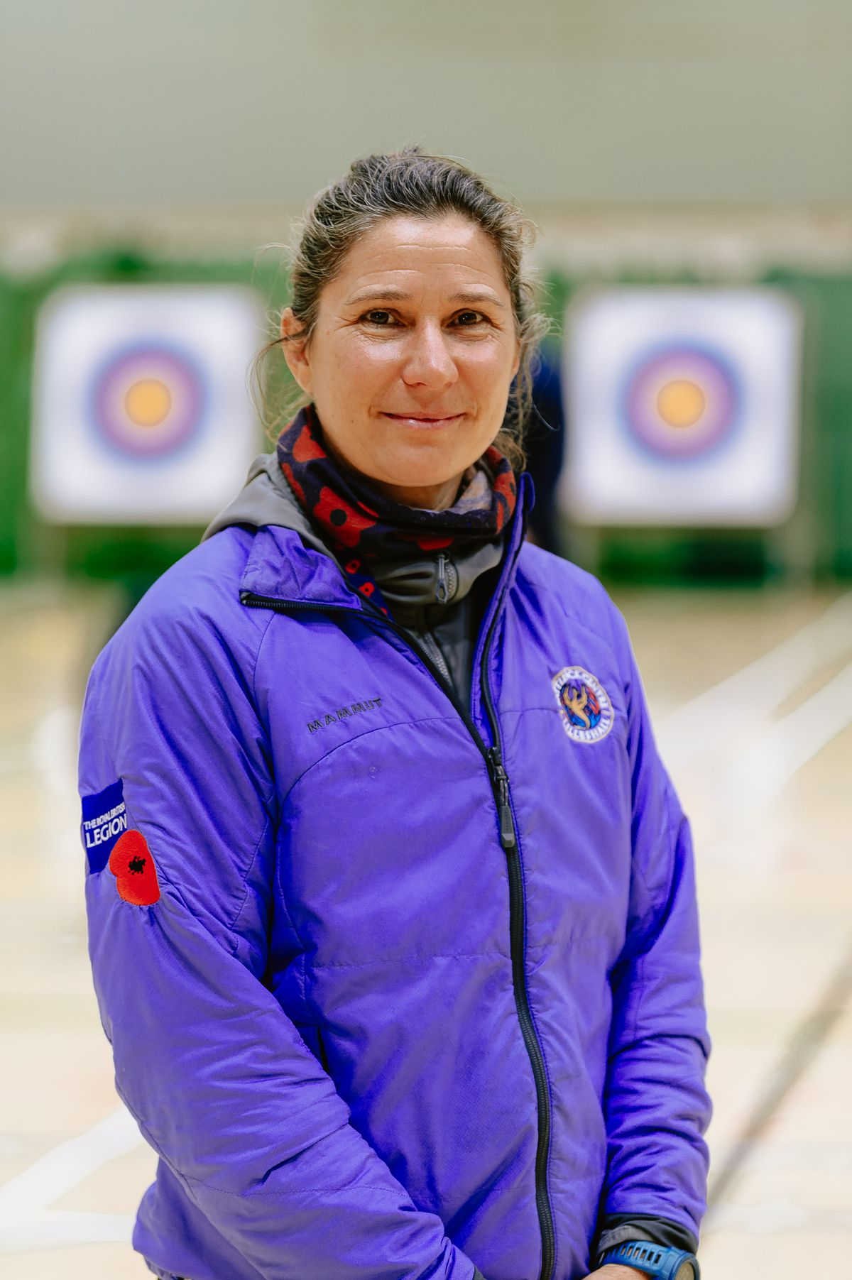 Archery instructor Michaela Barwick